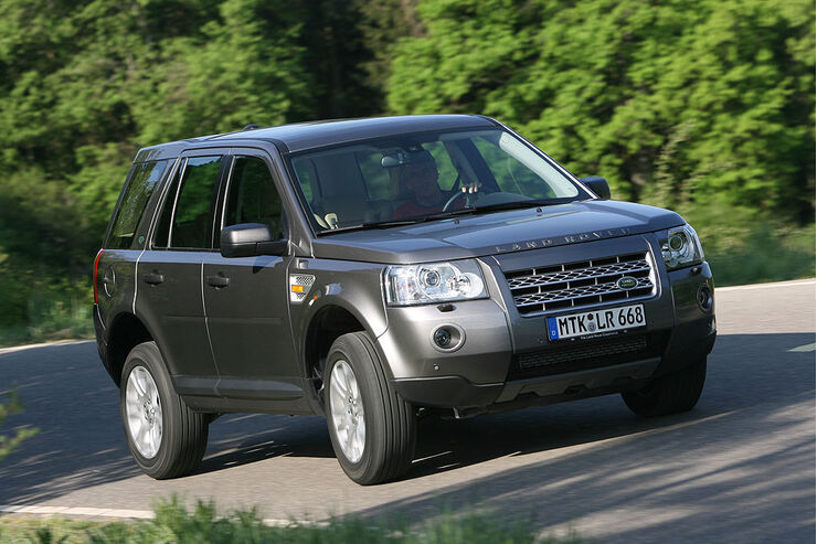 land rover update f r freelander und range rover auto. Black Bedroom Furniture Sets. Home Design Ideas