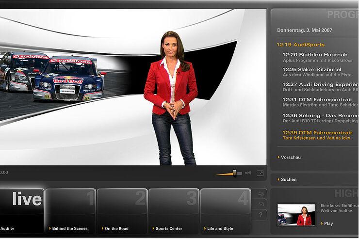 erlebniswelten online tv der auto hersteller seite 2 auto motor und sport. Black Bedroom Furniture Sets. Home Design Ideas