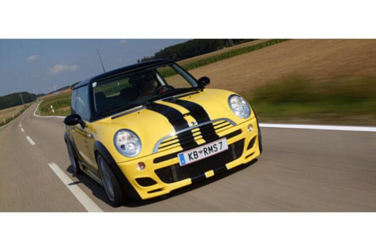 Yellow Strom: RMS-Mini Cooper S - auto motor und sport  Yellow Strom: R...