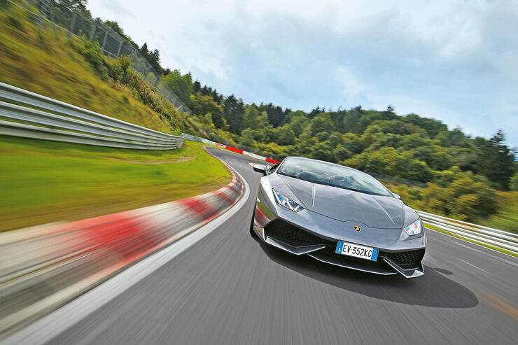 lamborghini hurac n im supertest auf der nordschleife auto motor und sport. Black Bedroom Furniture Sets. Home Design Ideas