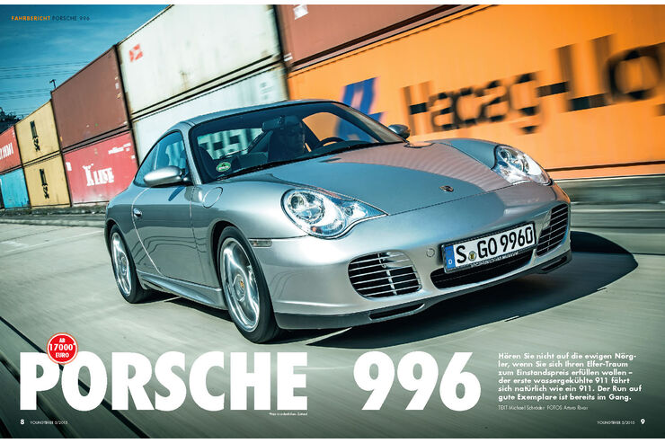 fahrbericht mit kaufberatung porsche 996 auto motor und sport. Black Bedroom Furniture Sets. Home Design Ideas