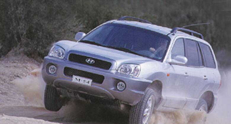 hyundai santa fe (typ sm) - auto motor und sport