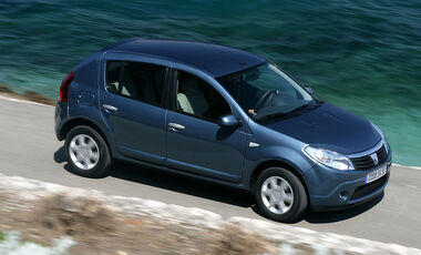 dacia sandero tests auto motor und sport. Black Bedroom Furniture Sets. Home Design Ideas