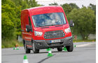 promobil Megatest 2014, Basisfahrzeuge, Ford Transit, Slalom