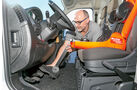 promobil Megatest 2014, Basisfahrzeuge, Messung Sichtverhältnisse