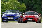 sport auto 08/2012 BMW M6, Jaguar XKR-S Cabrio