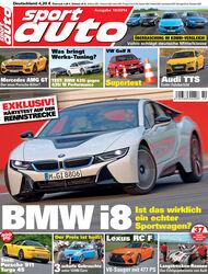 sport auto 10/2014, Cover