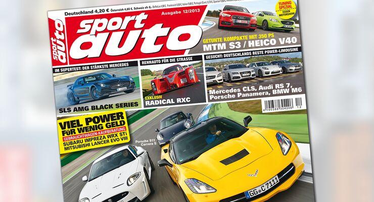 sport auto 12/2013, Heftinhalt
