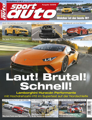sport auto 12/2018 - Heftcover
