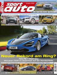 sport auto 2/2019 - Heft - Cover