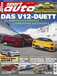 sport auto 3/2018 - Heft - Cover