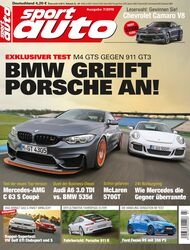 sport auto 7/2016 - Heftcover