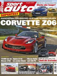sport auto 8/2017 - Heftcover