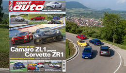 sport auto 8/2018 - Aufmacher - Heftvorschau