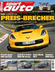 sport auto 9/2016 - Heft - Cover