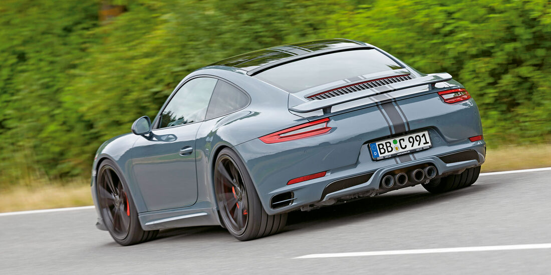 sport auto 9/2016 - Techart-Porsche 911 Carrera S - Tuning