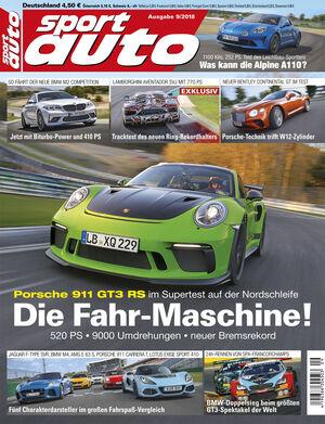 sport auto 9/2018 - Titel