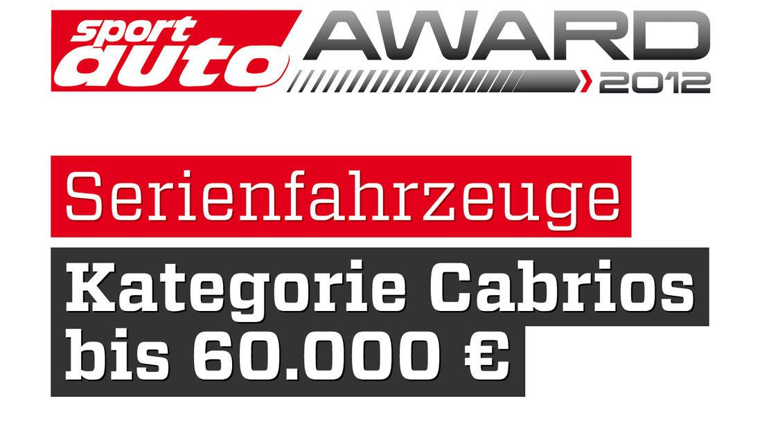 sport auto Award 2012 Serienfahrzeuge Kategorie Cabrios 60.000 Euro