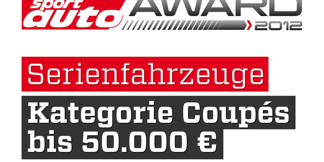 sport auto Award 2012 Serienfahrzeuge Kategorie Coupes über 150.000 Euro