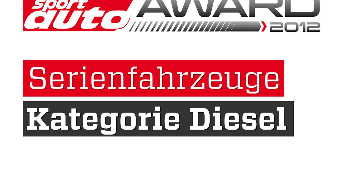 sport auto Award 2012 Serienfahrzeuge Kategorie Diesel