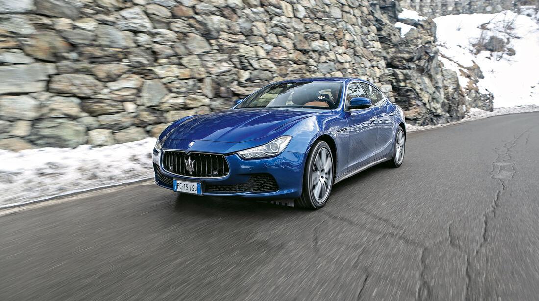 sport auto Award 2017 - E 052 - Maserati Ghibli S Q4