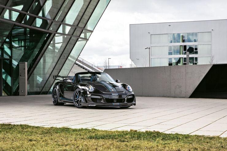 sport auto Award 2017 - W 204 - Techart-Porsche GTstreet R Cabriolet