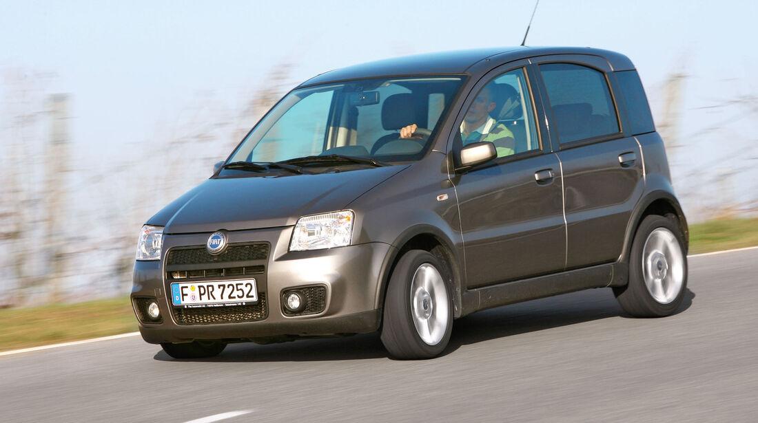 sport auto-Exotendeals bis 15.000 Euro, Gebrauchtwagen-Spezial, 04/2016, Fiat Panda 100 HP