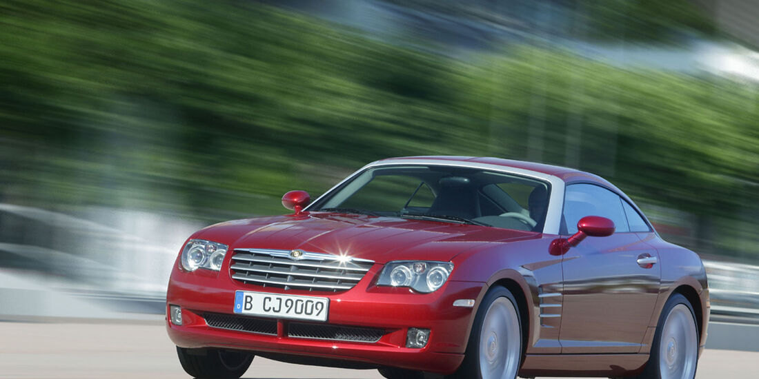 sport auto-Exotendeals bis 30.000 Euro, Gebrauchtwagen-Spezial, 04/2016, Chrysler Crossfire Coupé