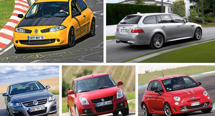 sport auto-Gebrauchtwagen-Spezial, Exotendeals, Geheimtipps, 04/2016