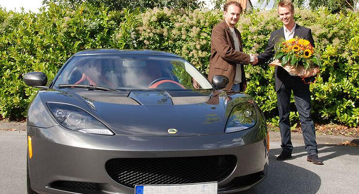 sport auto-Leserwahl 2010 Preisübergabe