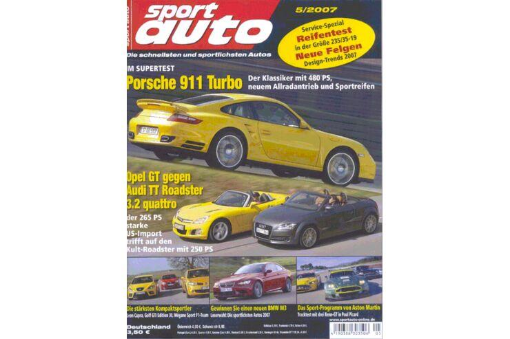 sport auto sportauto heft 05 2007 auto motor und sport. Black Bedroom Furniture Sets. Home Design Ideas