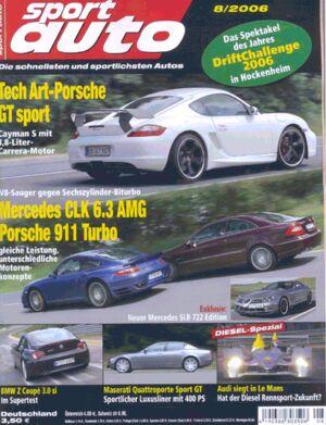 sportauto, Heft 08/2006