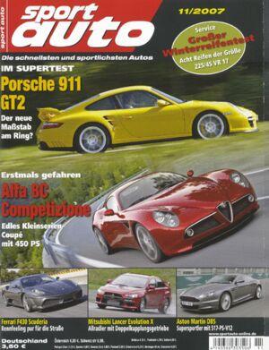 sportauto, Heft 11/2007