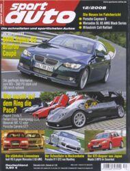 sportauto, Heft 12/2008