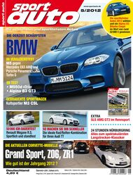 sportauto Heftcover 05/2012